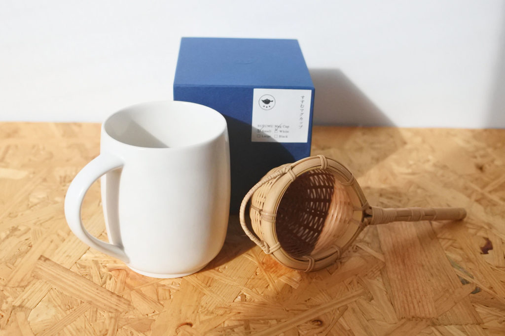 今村製陶 町屋 すすむ屋茶店マグカップ1